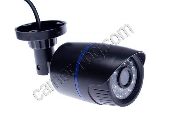 Охранителна IP камера, черна