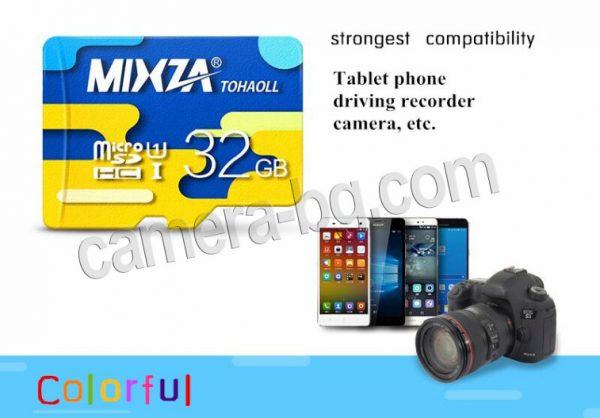Micro SD карти с памет 16GB, 32GB, 64GB, 128GB, Class 10 - високи скорости на запис и четене