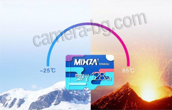 Micro SD карти с памет 16GB, 32GB, 64GB, 128GB, топлоустойчиви, студоустойчиви