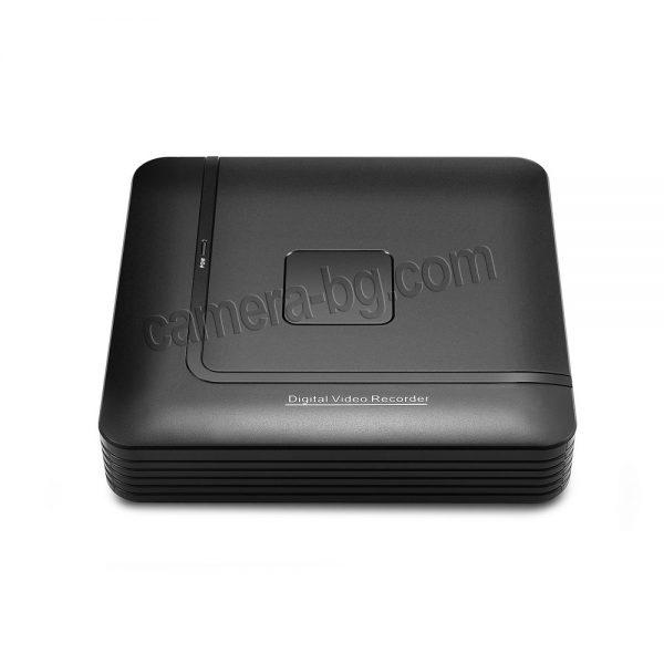 NVR рекордер за запис на видео от IP камери, FullHD 1080P, 2MP, H.264, 4 канала, HDD 3,5'', наблюдение през монитор