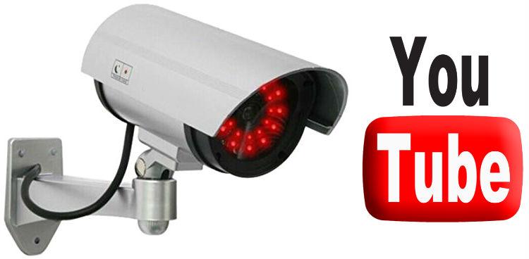 Предаване на поточно видео от IP камера в YouTube, излъчване на живо