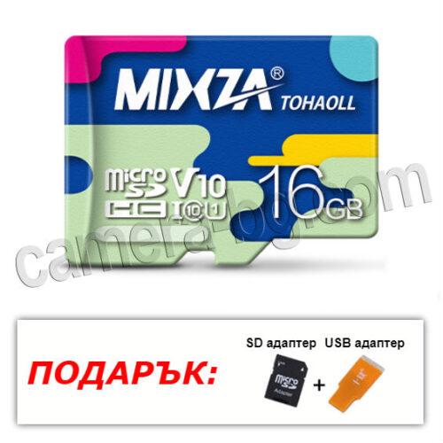 Micro SD карта с памет 16GB, Class10, Тайван, 100% оригинал