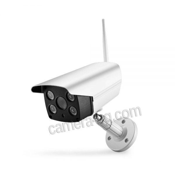 Охранителна IP камера - FullHD 1080p, 2.0MP, micro SD слот до 128 GB, двупосочно аудио, безжична Wi-Fi връзка, нощен режим 30м, външна IP66