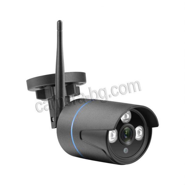 Готов комплект за видеонаблюдение - видеорекордер NVR , WiFi, FullHD 1080P и от 1 до 4 бр. IP камери FullHD 1080P, 2MP, Wi-Fi безжични, с аудио, външни, черни.