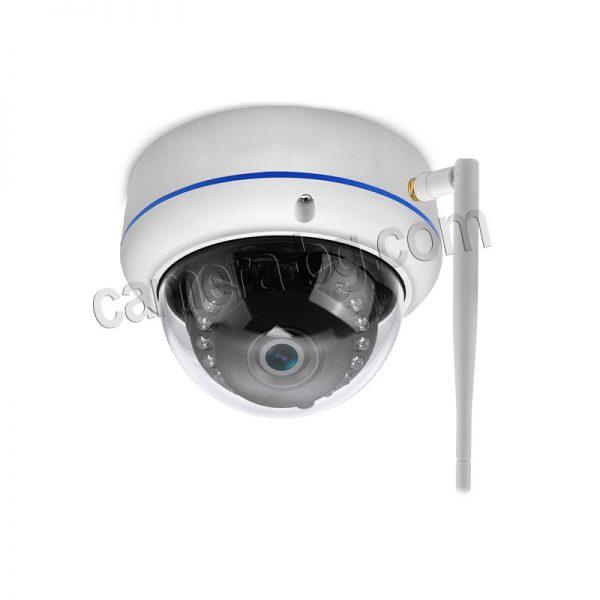 IP охранителна камера, FullHD 1080P, 2MP, с безжична Wi-Fi връзка, micro SD слот, външна, вандалоустойчива, метална, защита IP66 - монтаж на стена, таван, плот