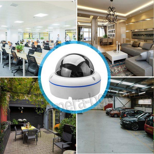 IP охранителна камера, FullHD 1080P, 2MP, с безжична Wi-Fi връзка, micro SD слот, външна, вандалоустойчива, метална, защита IP66 - за охрана на различни видове обекти