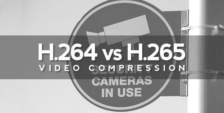 Сравнение на H.265 и H.264 IP камери