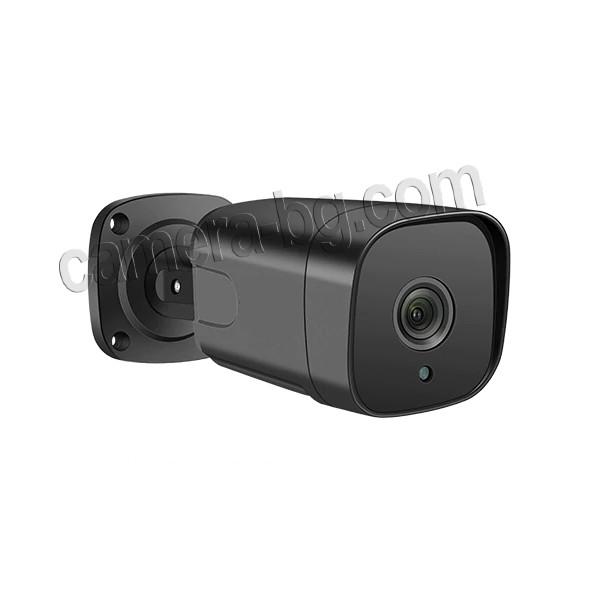 Охранителна камера 5MP, SuperHD, PoE 48V, външна, вандалоустойчива, метална, защита IP66, двупосочно аудио - здрав, износоустойчив корпус