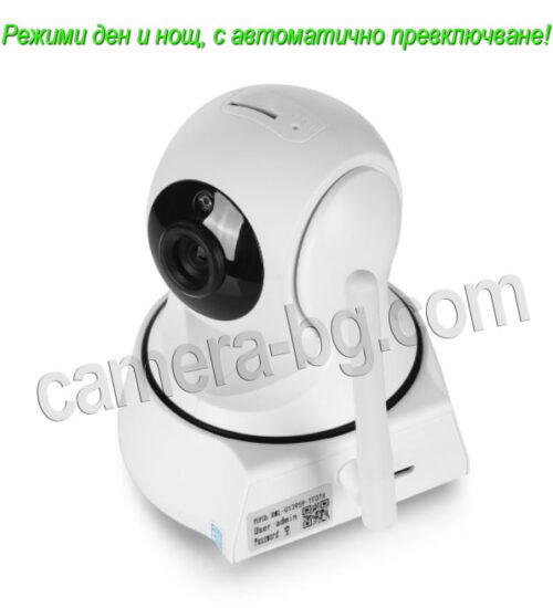 IP камера, охранителна камера, бейбифон, FullHD, Wi-Fi, micro SD слот, PTZ контрол, двупосочно аудио, вътрешна - автоматични режими Ден и Нощ