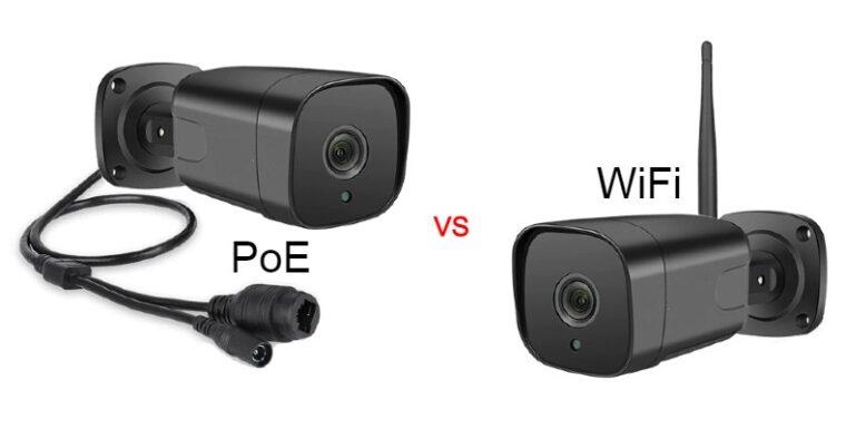 Сравнение на PoE и WiFi камери за наблюдение
